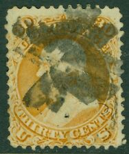 EDW1949SELL : USA 1861 Scott #71 Used. Sound stamp. PSAG Certificate. Cat $190.