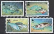 WWF Grenada postfris 2001 MNH 3504-3507 - Vissen Papegaaivis / Fish (325)