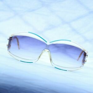 Cazal 857 W.Germany Vintage Hip Hop Designer Rare Sunglasses Rif Raf