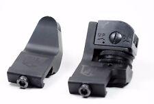 Ozark Armament 45 Degree Offset Fixed Iron Sights - Picatinny Mount BUIS