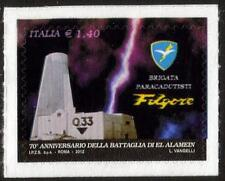 """ITALY MNH 2012 70th Anniversaryof the Paratroopers Brigade """"Folgore"""""""