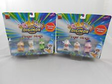 Digimon Finger Rings 6 Figures Sealed Collectibles Digital Monsters Figur Ring