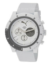 Puma Herrenuhr Uhr Motion White Gents PU103221004 Chronograph weiß sehr leicht