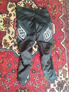 Troy Lee Designs Mens | BMX | Downhill | Mountain Bike | Sprint Pants Black, 34