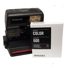 Polaroid 636 Camera with Impossible 600 Colour Film