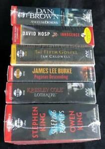 Wholesale Lot 6 New Unabridged Fiction Audiobooks on CD -Stephen King