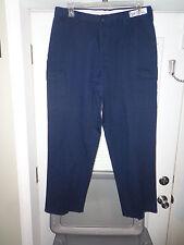 Men's Blue Cintas SWAT Tactical BDU Cargo EMS Police SRT Pants Size 35x32 SU5