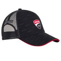2020 Ducati Corse MotoGP Trucker Hat Baseball Cap Logo Black Adults One Size