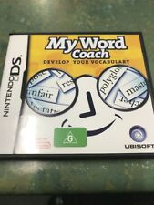 My Word Coach Nintendo DS Game USED