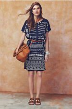 Monsoon Round Neck Party Short Sleeve Dresses for Women