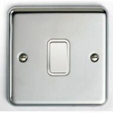 Satin Chrome Light Switche Home Electrical Fittings