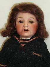 "21"" Antique Bisque Doll, Possibly Nippon? Sold as found."