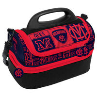 AFL Lunch Cooler Bag Box - Melbourne Demons - Aussie Rules Football - BNWT