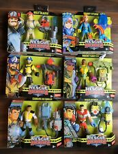 Fisher-Price 3+ Rescue Heroes 6-Inch Figures With Accessories Lot/6 New Sealed
