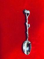 Vtg Australian Souvenir Spoon with Ram and Kiwi Bird - LEGA EPNS AI marked