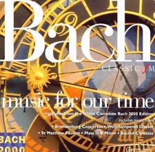 BACH – MUSIC FOR OUR TIME: CLASSIC FM CD (2000) MAGNIFICAT, WACHET AUF ETC