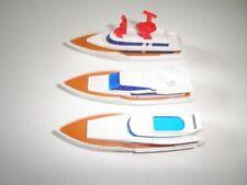 YACHTS 1995 MODEL BOATS & SHIPS SET - KINDER SURPRISE PLASTIC TOYS MINIATURES