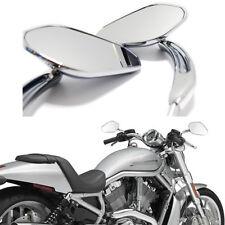 Chrome Motorcycle Mirrors For Harley Davidson XL Sportster 1200 Softail Custom