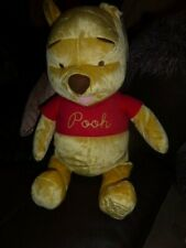 """FISHER PRICE 2005 WINNIE THE POOH CELEBRATIING 80 YEARS 24"""" SOFT TOY"""