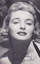 PATRICIA  NEAL -  hollywood  MOVIE  STAR/actress 1950s  arcade/exhibIit card