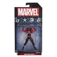 "Red She-Hulk Marvel Universe Infinite Series 3.75"" Action Figure Hasbro"