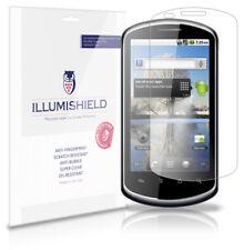 iLLumiShield Phone Screen Protector w Anti-Bubble/Print 3x for Huawei U8800