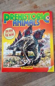 Panini Prehistoric Animals  Sticker Albums 100% Full Complete