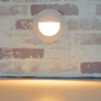 5W LED Indoor/Outdoor Wall Light Fixture Stage Step Lamp Waterproof Junction Box