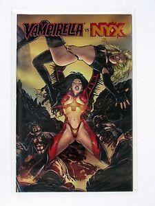 Vampirella #12 Vs Mistress NYX - Chrome Foil Variant - 9.4