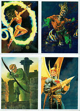 DC MASTER SERIES COMPLETE SET OF 4 FOIL CARDS