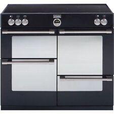 Stoves Sterling 1000Ei 100cm Electric Induction Range Cooker Black 444441657