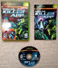 Tron 2.0 Killer App Tested And Works Complete With Manual (Microsoft Xbox, 2004)