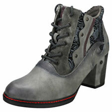 Calzado de mujer botines grises Mustang
