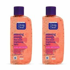 Pack of 2 Clean and Clear Morning Burst Berry Face Wash 100 ML Each FreeShipping