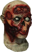 *Uses Smart Phone* PULSING ZOMBIE BRAINS MASK Full Head Animated Cosplay Costume