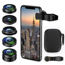 New listing Cell Phone Camera Lens Kit, 5 in 1 iPhone Photography Kit Smartphone.