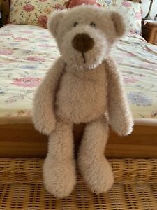 keel toys Floppy Teddy 22cm Cream Soft Toy Plush Plushie Teddy Bear 4824/1