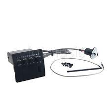 Black Acoustic Guitar EQ 3 Band Equalizer Set Preamp Pickup Piezo