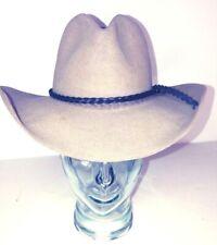 John B. Stetson 4X Beaver USA Made XXXX Beige/White Cowboy Hat 6-7/8 Vintage