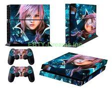 Final Fantasy 13 FFXIII FF13 Lightning Vinyl Skin Sticker Decal Protector PS4