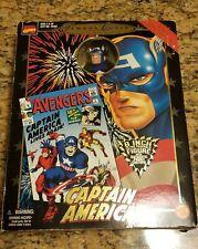 Toy Biz Marvel Milestones - Famous Cover Series Captain America, 1998 NIB