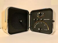 BRIONVEGA TONO Ts 502 CUBO bianca Radio Zanuso Sapper Design Epoca lesa vintage