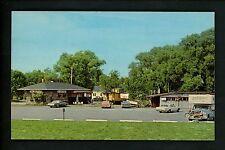 Restaurant postcard Michigan MI, North Port, The Depot street view