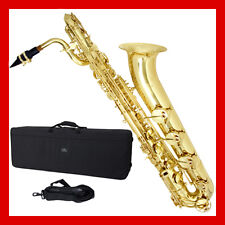 CECILIO 3Series BARITONE SAXOPHONE in GOLD LACQUERED