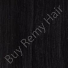 pré-collé Remy Bâton Pointe / i-pointe 1GM #1 jais noir EXTENSIONS DE CHEVEUX
