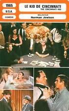 FICHE CINEMA : LE KID DE CINCINNATI - McQueen,Ann-Margret1965 The Cincinnati Kid