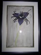 Watercolour & Papercraft Framed Picture Batflower BN