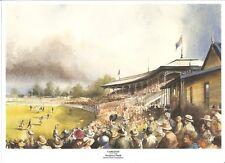 Carlton Ground Print Princes Park 1932 275mm X 200mm Paul Crompton Artist