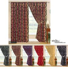 Полностью на подкладке дизайнерский жаккардовые шторы в 7 размеров и 6 цветов вкл галстука задники