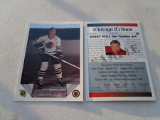 BOBBY HULL COLLECTIBLE ( PROMO ) HOCKEY CARD